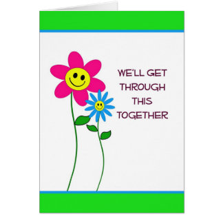 Getting Through Cancer Together Greeting Card