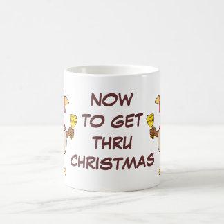 Getting Through the Holiday Season to Christmas Coffee Mug