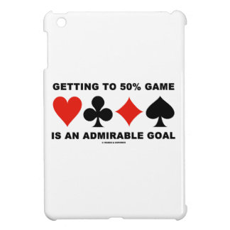 Getting To 50% Game Is An Admirable Goal Case For The iPad Mini