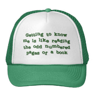 Getting to Know Me Trucker Hat