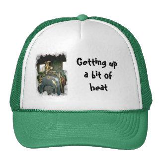 Getting up a bit of heat trucker hat