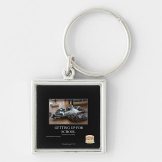 Getting Up For School Keychain