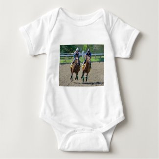 Getting Up in Saratoga Baby Bodysuit