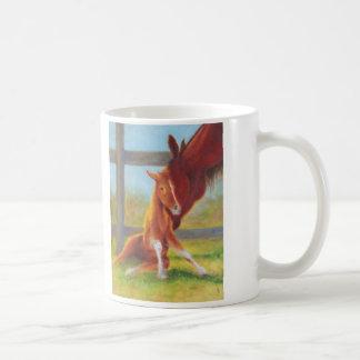 Getting up is hard to do!! coffee mug