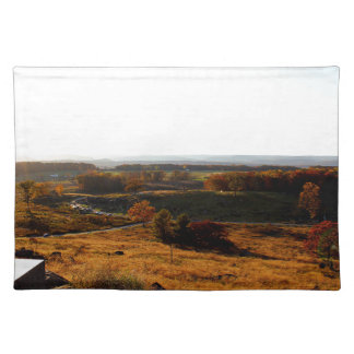 Gettsburg Sunset Cloth Placemat
