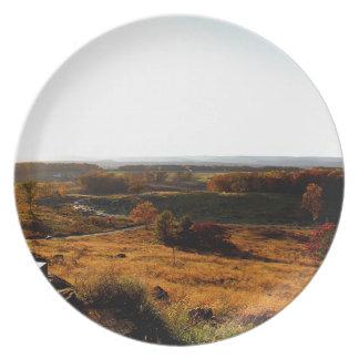 Gettsburg Sunset Melamine Plate