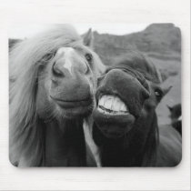 Getty Images | Smiling Horses Mouse Pad