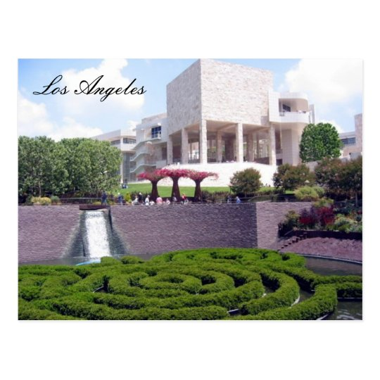 getty l.a. postcard