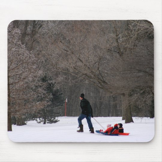 Getty-Up Daddy Mouse Pad