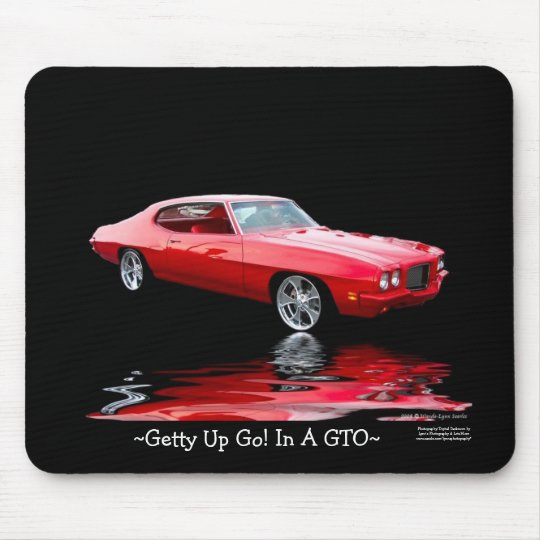 ~Getty Up Go! In A GTO~ Mousepad