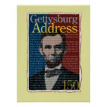Gettysburg Address 150th Anniversary Poster