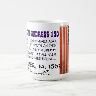 GETTYSBURG ADDRESS COFFEE MUG