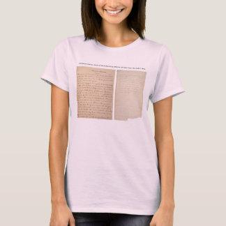 Gettysburg Address Nicolay Copy (1863) T-Shirt