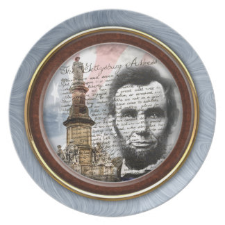 Gettysburg Address Plate
