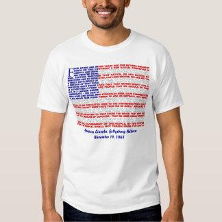 Gettysburg Address Tee Shirt