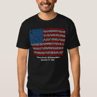 Gettysburg Address Tshirts
