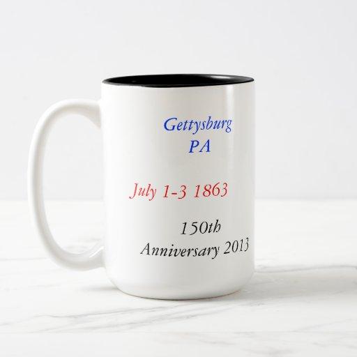 Gettysburg Anniversary Mug