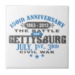 Gettysburg Battle 150 Anniversary Ceramic Tile