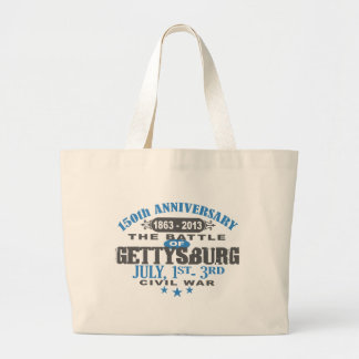 Gettysburg Battle 150 Anniversary Large Tote Bag