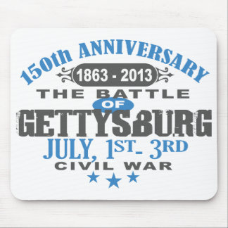 Gettysburg Battle 150 Anniversary Mouse Pad