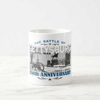 Gettysburg Battle 150 Anniversary Classic White Coffee Mug