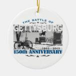 Gettysburg Battle 150 Anniversary Christmas Ornaments