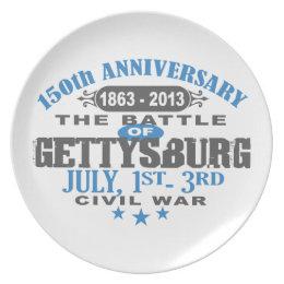 Gettysburg Battle 150 Anniversary Plate
