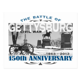 Gettysburg Battle 150 Anniversary Postcard