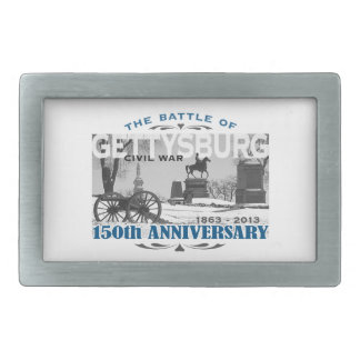 Gettysburg Battle 150 Anniversary Rectangular Belt Buckle
