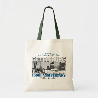 Gettysburg Battle 150 Anniversary Tote Bag