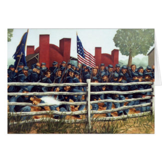 Gettysburg, Battle at the Brickyard Note Card 3