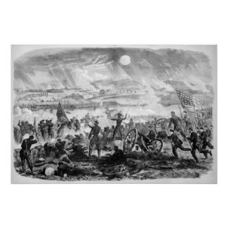 Gettysburg Battle Scene print