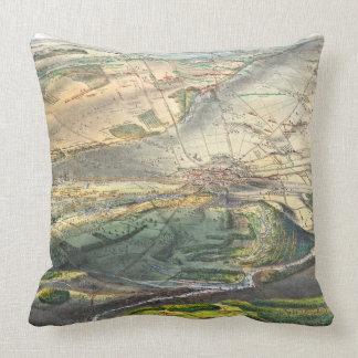 Gettysburg Battlefield 1863 Throw Pillow