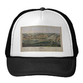 Gettysburg Battlefield by John Bachelder 1863 Hat