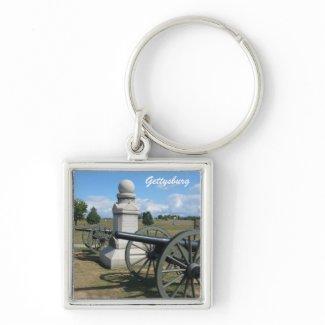 Gettysburg Battlefield Cannon Keychain keychain