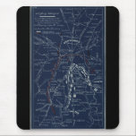 """Gettysburg Battlefield Civil War Map (1863) Mouse Pad<br><div class=""""desc"""">Title     Gettysburg battlefield Contributor Names     Cope,  Emmor B.  Created / Published     [S.l.,  1863]  Subject Headings     -  Gettysburg,  Battle of,  Gettysburg,  Pa.,  1863--Maps      -  Gettysburg Region (Pa.)--Maps      -  United States--Pennsylvania--Gettysburg      -  Gettysburg (Pa.),  Battle of</div>"""