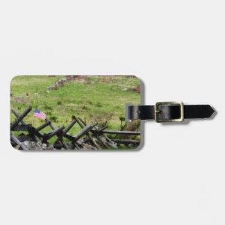 Gettysburg Battlefield Travel Bag Tag