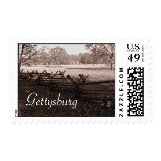 Gettysburg - Battlefield Postage #1
