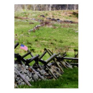 Gettysburg Battlefield Postcard