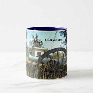 Gettysburg Battlefield Two Tone Mug