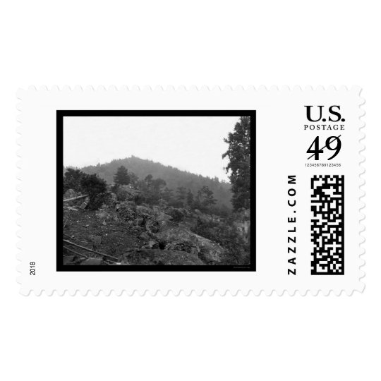 Gettysburg Breastworks on Little Round Top 1863 Postage