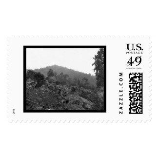 Gettysburg Breastworks on Little Round Top 1863 Stamp