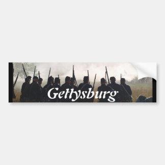 Gettysburg Pegatina Para Auto