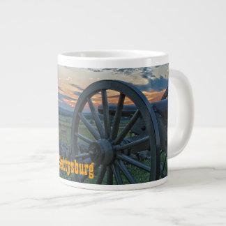 Gettysburg Cannon II Jumbo Mug 20 Oz Large Ceramic Coffee Mug