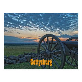 Gettysburg Cannon II Postcard