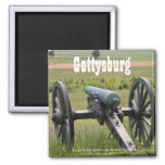 Gettysburg Cannon Magnet