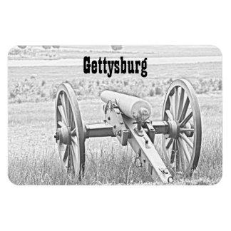 Gettysburg Cannon Sketch Premium Magnet