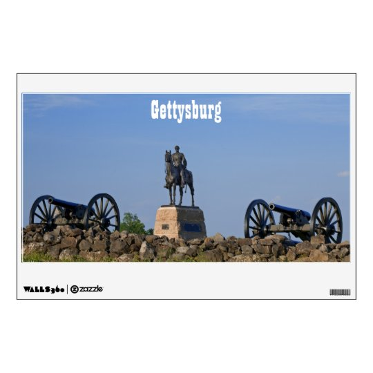 Gettysburg Cannons Wall Decal