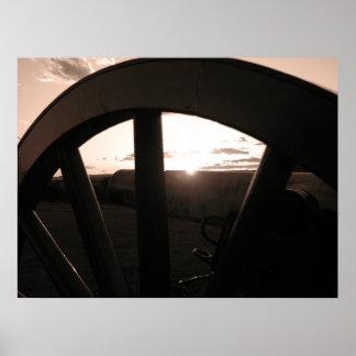 Gettysburg: Canon & Sunset - Poster