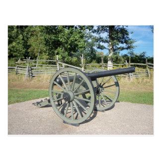 Gettysburg Canon Tarjeta Postal